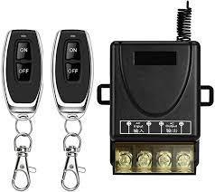 DONJON <b>Wireless Remote Switch</b>,AC 110V/220V/230V/240V RF ...