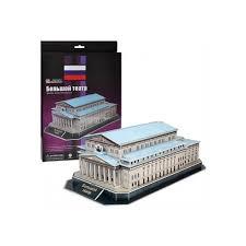 <b>CubicFun</b> 3D пазл <b>Большой театр</b> (Россия) мини серия купить в ...