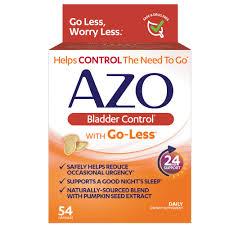 Azo <b>Bladder Control</b> Dietary Supplement with <b>Go</b>-<b>Less</b> - 54 ct | Rite Aid
