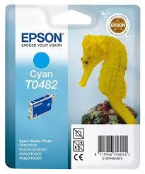 <b>Картридж EPSON</b> T0482, голубой [<b>c13t04824010</b>]