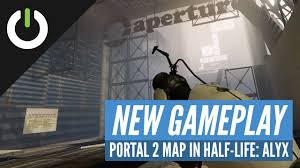 Exploring <b>Aperture Laboratories</b> from Portal 2 in Half-Life: Alyx ...