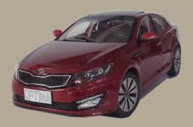 R8480AC420K <b>Модель</b> ам красный <b>масштаб Hyundai</b>-KIA