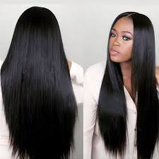 Brazilian Straight Lace Wig <b>Pre Plucked 2x6</b> Lace Human Hair Wigs ...