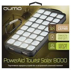 Обзор внешнего аккумулятора <b>Qumo</b> Tourist <b>Solar</b>