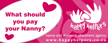 nanny agency cape town happy helpers nanny agency what to pay your nanny