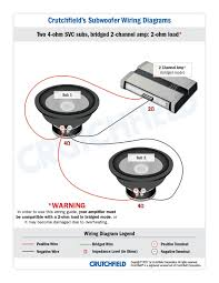 kicker l7 4 ohm wiring kicker image wiring diagram subwoofer wiring diagrams on kicker l7 4 ohm wiring