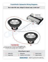 kicker l ohm wiring kicker image wiring diagram subwoofer wiring diagrams on kicker l7 4 ohm wiring