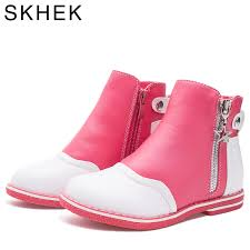 <b>SKHEK</b> Brand Rubber Outsole Girl <b>Boots</b> For <b>Children Shoes</b> Ankle ...