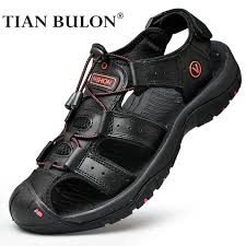 top 10 largest italian <b>men sandals leather</b> ideas and get free shipping