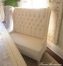 tufted dining bench with back high back tufted loveseat  from joss amp main bench