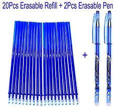 <b>Erasable</b> Gel <b>Pens 20pcs</b>/<b>set</b> +2pcs <b>Erasable</b> Gel <b>Pen</b> Magic ...