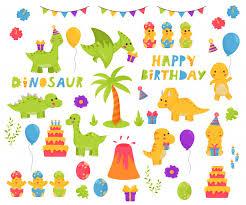 Kawaii динозавров мультипликационный персонаж <b>набор</b>. <b>тема</b> ...