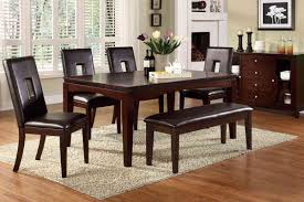 Colored Dining Room Sets Cherry Wood Dining Room Set Home Interior Design Ideas