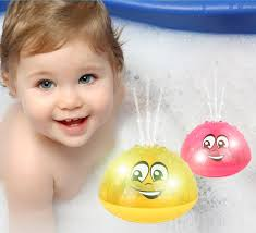New <b>Funny Baby Bath Toys</b> Electric Induction Water Spray Toys for ...