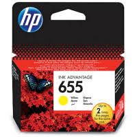 <b>Картридж</b> ориг. <b>HP CZ112AE</b> (<b>№655</b>) желтый для DeskJet IA 3525 ...