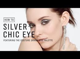 How To: Bold Silver Metallic Eyeshadow Tutorial - YouTube