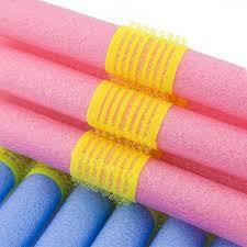 SODIAL(R) <b>12PCS Soft</b> Foam Bendy <b>Hair</b> Rollers Cling Strip <b>Hair</b> ...
