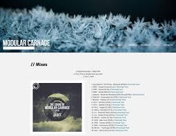 how to build a record label website modular carnage record label website