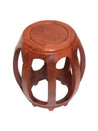Mahogany <b>drum stool</b> antique Chinese <b>solid</b> wood round stool ...