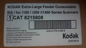<b>Kodak Extra-Large Feeder Consumables</b> Kit Scanner consumable ...