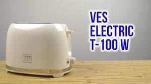 <b>Тостер VES T-100-W</b>