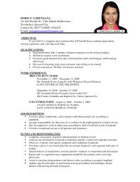 resume template simple examples for jobs pdf regard to 79 79 remarkable examples of job resumes resume template