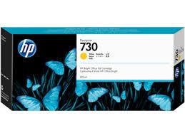 <b>HP 730 300ml</b> Yellow Ink Cartridge- LexJet - Inkjet Printers, Media ...