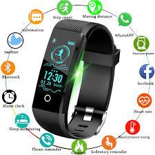 <b>LIGE 2019 New smart</b> watch Men fitness tracker blood pressure ...