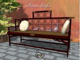 bench asian style furniture japanese or chinese asian style furniture