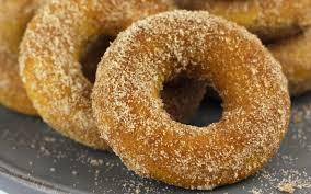 Image result for Pumpkin donuts
