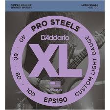 <b>D'Addario EPS190</b> (для бас-<b>гитары</b>), купить <b>гитарные струны D</b> ...