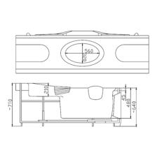 <b>Акриловая ванна Victory Spa</b> BARBADOS 155x155 см купить в ...