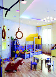 themed kids room designs cool yellow: bedroomstylish kids room decoration with cool study desk under bunk bed idea kids play