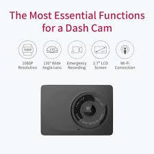 Автомобильный <b>видеорегистратор YI Compact</b> Dash <b>Camera</b> ...