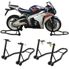 <b>Front & Rear Motorcycle</b> Lift Stand (Fits Honda, Kawasaki, Suzuki ...