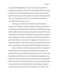 nursing application essay how the patient care that you have  nursing application essay how the patient care that you have provided has influenced your career and your decision to continue your education