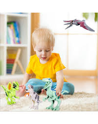 <b>Jurassic</b> dinosaur <b>assembled building blocks</b> toy set - Kids and Toy