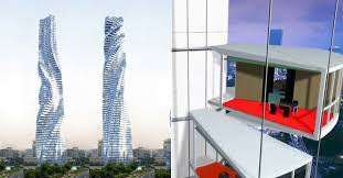 A <b>shape</b>-shifting, <b>rotating</b> skyscraper is set for Dubai by 2020