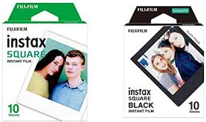 <b>Fujifilm</b> Instax <b>Square</b> Frame WW1 <b>Colorfilm</b> Black: Amazon.de ...