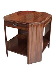 art deco mahogany side table 280000 french mid century dining table art deco mid century dining