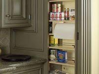 Кладовые <b>шкафы</b> в кухне: лучшие изображения (50)   Кладовые ...