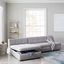Plateau <b>2</b>-<b>Piece Storage</b> Chaise Sectional