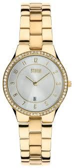 <b>Наручные часы</b> STORM Slim X Crystal <b>Gold</b> — купить по выгодной ...