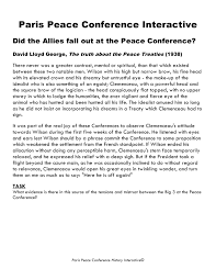gcse history paris peace conference image 9