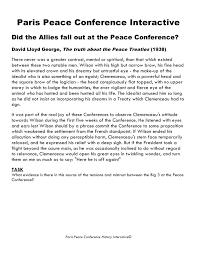 gcse history paris peace conference image 9