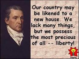 「President James Monroe」の画像検索結果