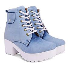 KRAFTER <b>Women's Canvas</b> Boots: Buy Online at Low Prices in ...