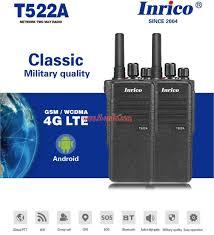 <b>Inrico T522A</b> 4G LTE Wifi <b>Zello</b> PTT Radio Phone - Walkie-Talkie