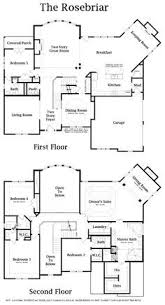 Story House Floor Plans       Two Story Colonial House Plan     story home plan   gym   Google Search