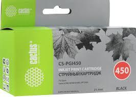 <b>Картридж</b> Cactus CS-<b>PGI450</b>, черный, для струйного принтера ...